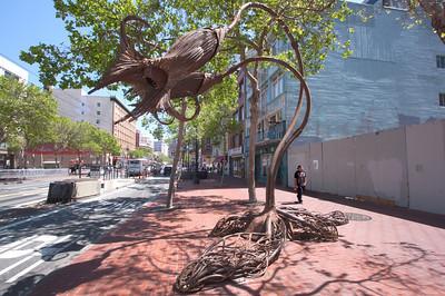 The Lovers - Market Street, San Francisco