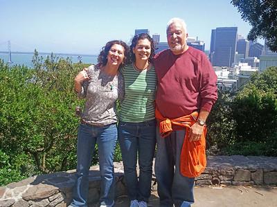San Francisco,Cambria, Solvang.