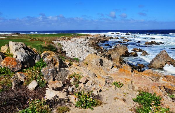 Coastline on 17 mile drive