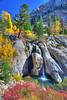 Waterfall along Sonora Pass