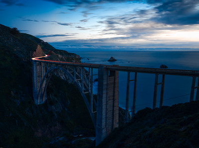 Bixby Bridge Blue Hour
