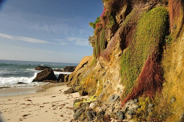 Laguna Beach area - beautiful cliffs