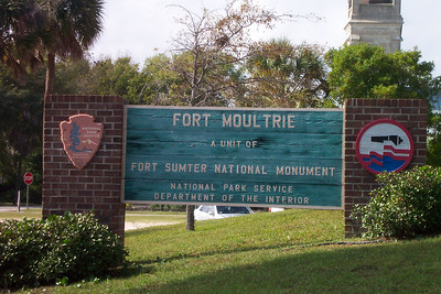 Entrance to Fort Moultre