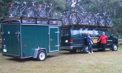 our bikes arrive