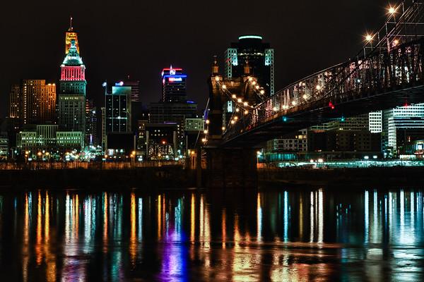 Covington Looking North to Cincinnati