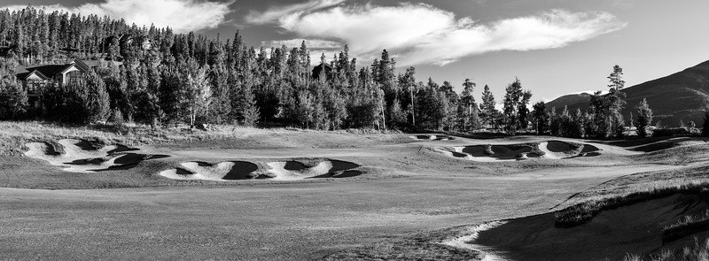 Raven Three Peaks Golf Photography