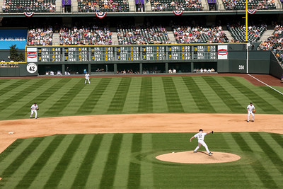A beautiful day for baseball - Denver, CO ... September 21, 2008 ... Photo by Rob Page III