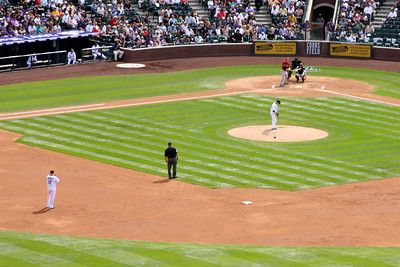The batter awaits the pitch - Denver, CO ... September 21, 2008 ... Photo by Rob Page III