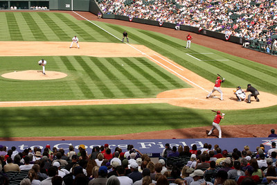 Beautiful baseball weather - Denver, CO ... September 21, 2008 ... Photo by Rob Page III