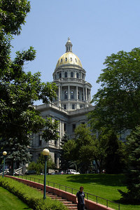 The Colorado state capitol - Denver, CO ... July 13, 2006 ... Photo by Rob Page III