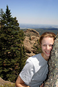 Emily, enjoying the summer hike - San Isabel National Forest, CO ... July 14, 2006 ... Photo by Rob Page III