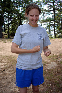 Ultimate Fighter Emily Conger - San Isabel National Forest, CO ... July 14, 2006 ... Photo by Rob Page III