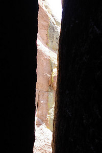 Looking out through the rocks - San Isabel National Forest, CO ... July 14, 2006 ... Photo by Rob Page III