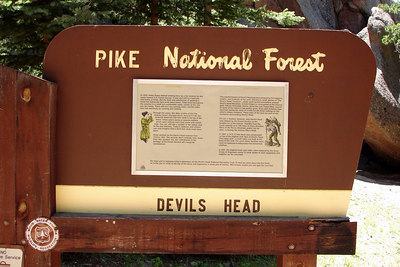 Devil's Head history - San Isabel & Pike National Forests, CO ... July 14, 2006 ... Photo by Rob Page III