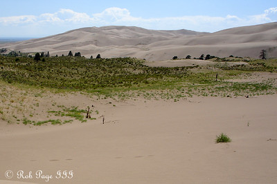 Great Sand Dunes National Park, CO ... July 15, 2006 ... Photo by Rob Page III