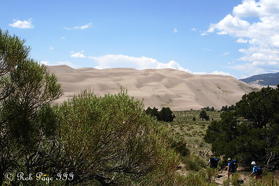 Hiking - Great Sand Dunes National Park, CO ... July 15, 2006 ... Photo by Rob Page III