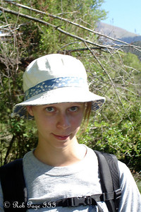 Hiker Emily - Great Sand Dunes National Park ... July 16, 2006 ... Photo by Rob Page III