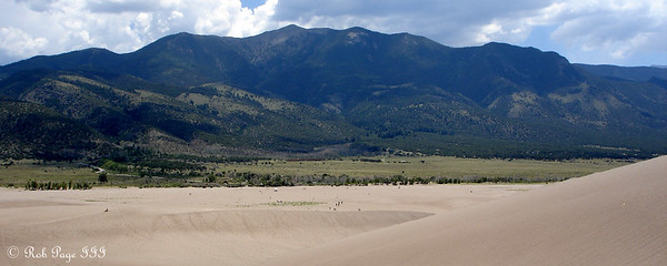 Great Sand Dunes National Park ... July 16, 2006 ... Photo by Rob Page III