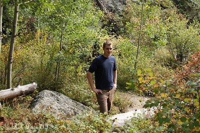 Rob in the outdoors - Rocky Mountain N.P., ... September 20, 2008 ... Photo by Jon Addair