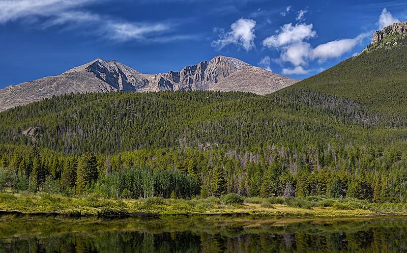 Lily Lake - Mount Meeker - Longs Peak - Estes Cone