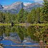 Sprague Lake - Hallett Peak
