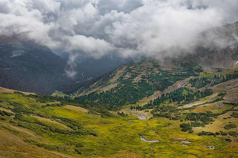 Alpine Visitor Center Overlook