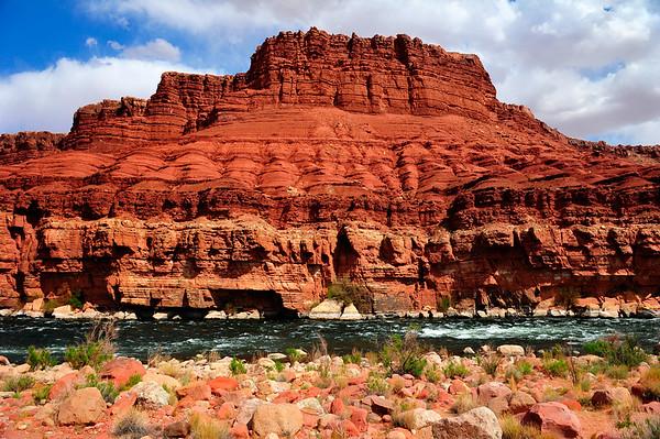 Colorado river in MArble Canyon