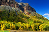 Colorful canyon walls