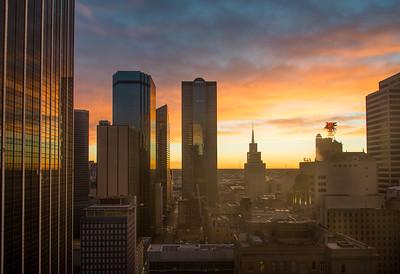 Dallas at dawn