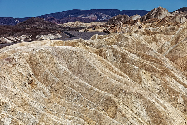Zabriskie Point near Furnace Creek