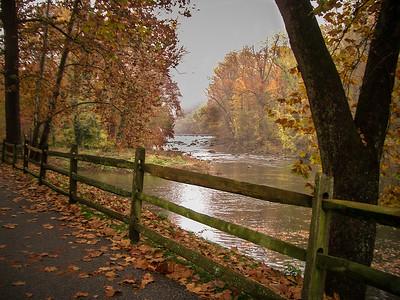 October, Brandywine River, Delaware