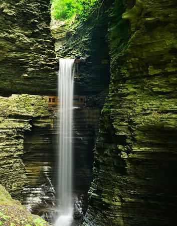 Upper Waterfalls of the Glen 11x 14