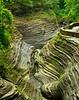 Erosion of Watkins Glen Gorge 11 x 14