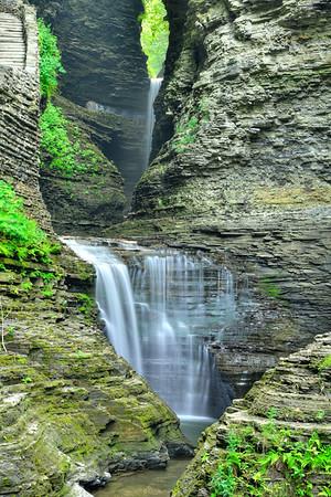 Two upper falls