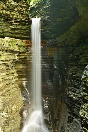 Full upper Falls of Watkin's Glen