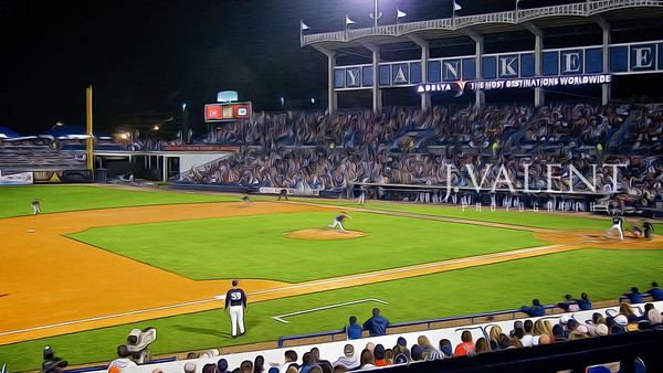 George M. Steinbrenner Field, N.Y. Yankees vs Boston Red Sox - Spring Training (16x9)