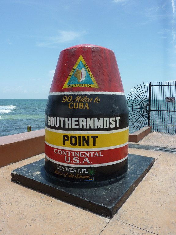 Southernmost Point of Continental USA, Key West - USA