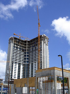 The construction boom that is Miami - Miami, FL ... September 18, 2005 ... Photo by Rob Page III