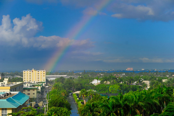 Rainbow over Key Biscayne