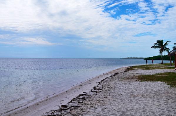 Beach in the Keys