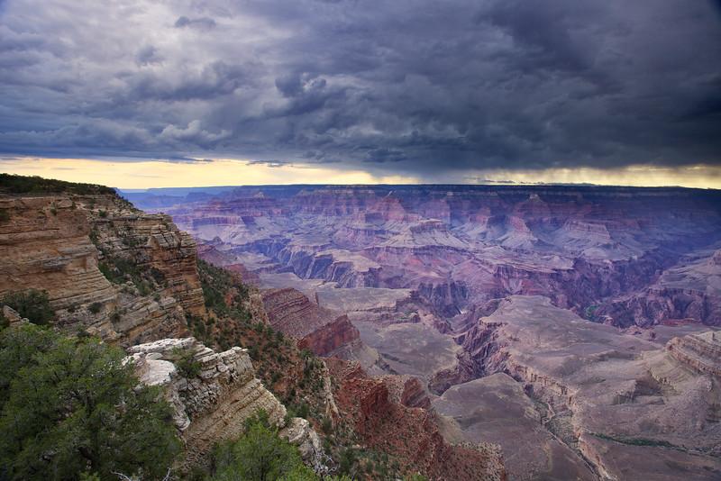 Rain over the Canyon