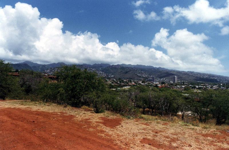 April 1999. Honolulu, Diamond Head