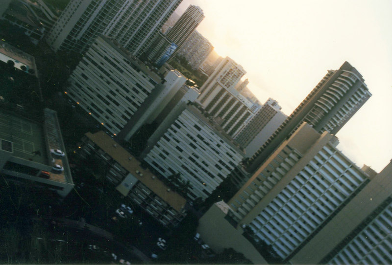 April 1999. Honolulu, buildings