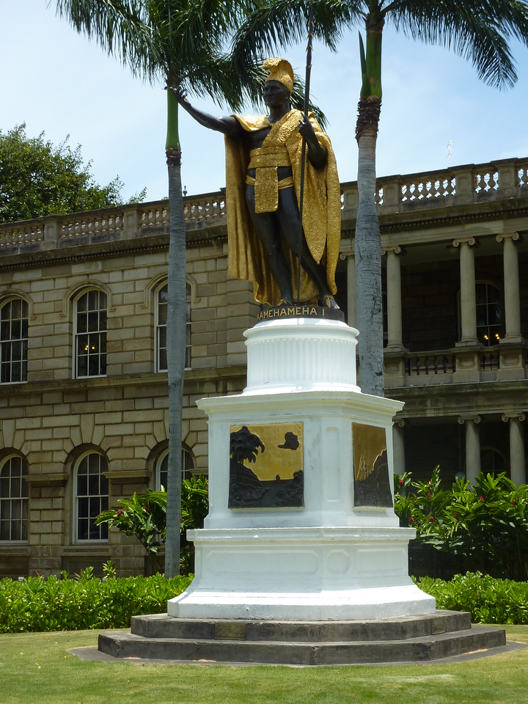 Kamehameha Statue - Honolulu