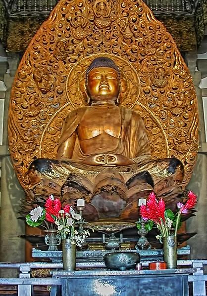 Byodo-In Temple - Amida Buddha