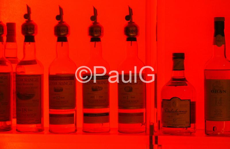Bottles in Red