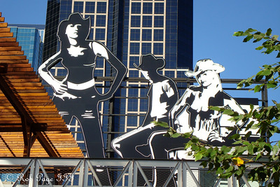 The Power and Light district - Kansas City, MO ... October 16, 2008 ... Photo by Rob Page III