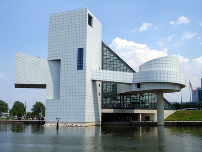 The Rock and Roll Hall of Fame - Cleveland, OH ... June 10, 2005 ... Photo by Rob Page III