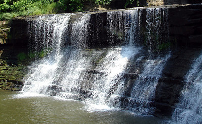 The falls of Chagrin Falls - Chagrin Falls, OH ... June 10, 2005 ... Photo by Rob Page III