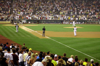The final out - Pittsburgh, PA ... June 11, 2005 ... Photo by Rob Page III